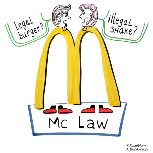 Fast Legal one fits all advice like McDonalds