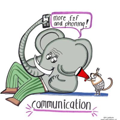 illustratie communicatie